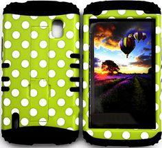 "myLife Two Layer Protection Fashion Armour Case for LG Nexus 4 Smartphone by Google {Margarita Green, Black and White ""Balanced Polka Dotted Circles with Kickstand"" Triple Piece TOUGH-Armour Rubberized Gel} myLife Brand Products http://www.amazon.com/dp/B00QFYVEW8/ref=cm_sw_r_pi_dp_G8GHub0TTD9FE"
