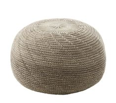 IKEA SANDARED Pouffe Beige 45 cm SANDARED pouffes are available in three sizes and have soft, knitted covers in different colours and patterns. Use them on their own or together in a personal combination. Ikea Footstool, Band Poster, Declutter Your Home, Blog Deco, Extra Seating, Decoration, Sweet Home, Homemade Home Decor, Ideas
