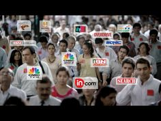 From in.com, VH1, ibnlive.com, IBN Lokmat, Indiacast, burrp.com, Colors, there's no media offering that Network18 does not reach you.