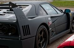 Carbon Fibre wrapped Ferrari F40