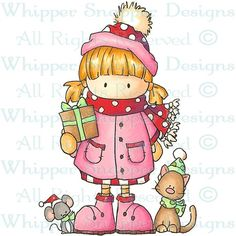 Maddie - Christmas Images - Christmas - Rubber Stamps - Shop