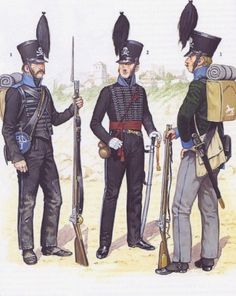 Fucikiere, ufficiale e tiratore scelto dei cacciatori del ducato di Brunswick