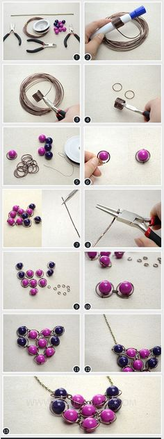 fabriquer collier shamballa