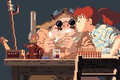 IdeaFixa » Hayao Miyazaki e Studio Ghibli em 8-bits