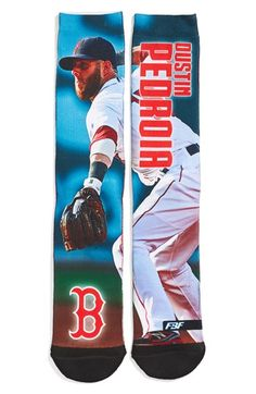 Men's FBF Originals 'Boston Red Sox - Dustin Pedroia' Socks
