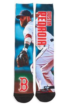 Men's FBF Originals 'Boston Red Sox - Dustin Pedroia' Socks - Red