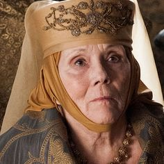 Diana Rigg as Olenna Tyrell (Season 5, episode 6: Unbowed, Unbent, Unbroken)