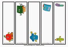Δως μοι πα στω και ταν γαν κινάσω...: Σχολικοί σελιδοδείκτες για εκτύπωση