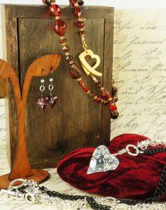 Valentine's jewelry ideas & tutorials!