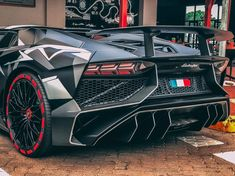 Lamborghini Aventador Super Veloce Roadster painted in Nero Nemesis w/ a Gray and Silver Urban camo pattern   Photo taken by: @mad_exotics1 on Instagram