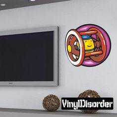 Toy Wall Decal - Vinyl Sticker - Car Sticker - Die Cut Sticker - DC 059