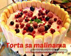 Torta sa malinama — Coolinarika