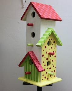 SCRAP YOUR WORLD: Birdhouses