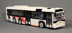 Lego Ikarus EAG Bus Lego Bus, Lego Truck, Lego Lego, Amazing Lego Creations, Lego Architecture, Lego Models, Lego Vehicles, Public Transport, Buses