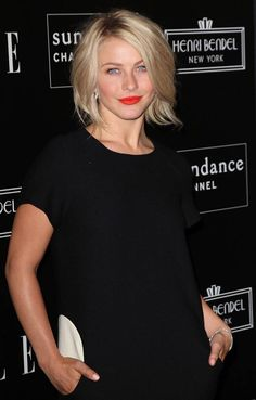 Julianne Hough - razor bob - It's piece-y and perfectly undone—the thinly sliced ends are the key to what gives this universally flattering cut its tousled effect.