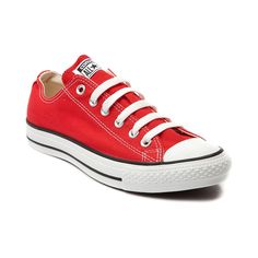 Converse All Star Lo Sneaker in red
