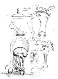 Adidas Biomecanik by Vinnie Longo, via Behance