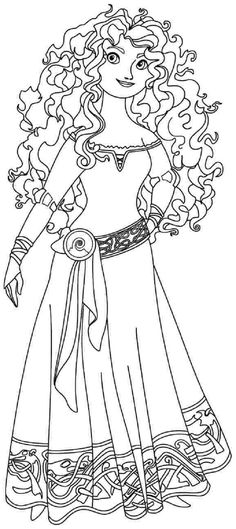 DISNEY COLORING PAGES: TANGLED COLORING PAGES OF RAPUNZEL   Toddler ...