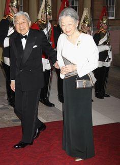 Emperor Akihito and Empress Michiko of Japan Picture: GETTY