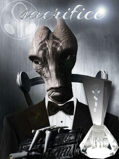 Mass Effect Perfume Series - Mordin Solus Sacrifice