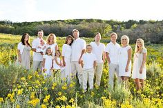 Love the organic look of this photo :-) large group pose - good idea for the Phillips, Brown, Cook photo