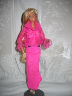 This doll was made in 1979 and is the 2nd issue of the 1966 model barbie doll by Mattel. Description from antiques.com. I searched for this on bing.com/images