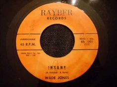 Wade Jones - Insane - Extremely Rare and Beautiful Early Motown Ballad