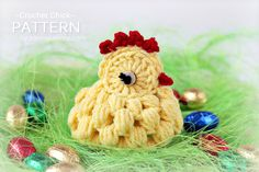 Crochet Pattern  Crochet Chick Pattern No. 040  by ZoomYummy, $3.90