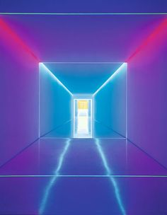 James Turrell The Inner Way, 1999 Optical fibres  Length, approx. 150m