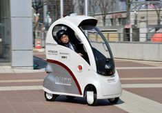 Japan invents one-man robot car that can drive itself - Tokyo Times