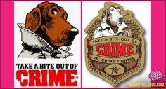 McGruff The Crime Dog takes a bite out of crime