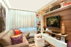 00 home theater - tv room Living Roon, Condo Living, Small Living Rooms, Home Living Room, Apartment Living, Home Theater Tv, Home Theater Design, Tiny Apartments, House Rooms