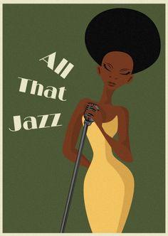 Cartaz para o festival de jazz