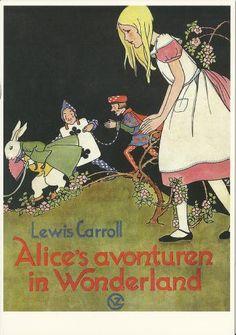 Alice's Adventures in Wonderland, 1932. Illustrations: Rie Cramer. Netherlands.