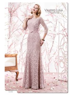 Blushing Ballet rose pink Gown with intricate hand lace work & velvet sash by Valerio Luna