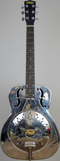 My (JHS) Vintage single cone resonator Guitar at Ukulele Corner… Resonator Guitar, Steel Guitar, Guitar For Beginners, Guitar Art, Ukulele, Musical Instruments, Acoustic, Axe, Vintage