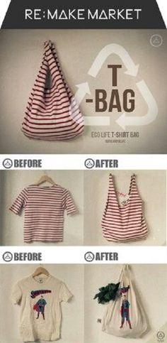 Bolsas-de-tela-recicladas-de-camisetas, http://manualidadesreciclables.com/17983/bolsas-de-tela-recicladas-de-camisetas