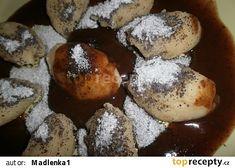 Škubánky s mákem a povidlovou omáčkou Dumplings, French Toast, Muffin, Pizza, Bread, Breakfast, Morning Coffee, Brot, Muffins