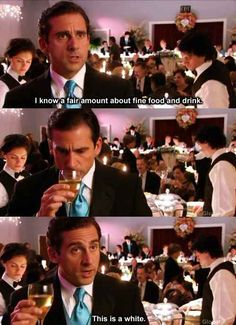 "He knew all about the finer things in life. | 82 Reasons Why ""The Office's"" Michael Scott Was The World's Best Boss"