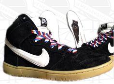 """Nike SB Dunk High """"Barber"""""""
