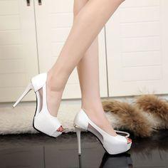 Dress Women'S Party Clubwear Fashion Stilettos Platform Open Toe High Heel Shoes