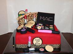 M And S Cosmetics Birthdag Cake