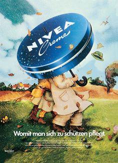 NIVEA Retroanzeige - 1976. #nivea #retro