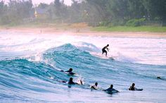 Working from Mauritius - surf