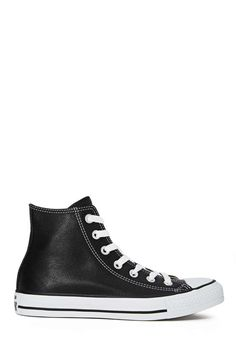 Black Leather Converse