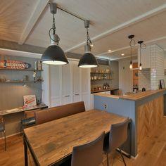 House Design, Interior Design, House, Home, Interior, Family Room, Kitchen Wallpaper, Home Decor, Room