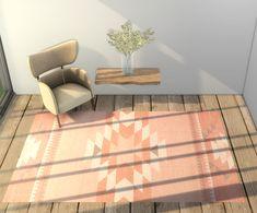 Sims 4 Base Game compatible CC rug recolour