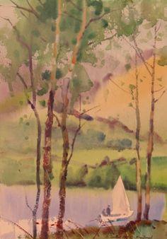 Painters Glade Brantwood    Stephen Quiller