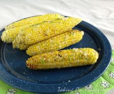 Garlic-Lime Grilled Corn |Taking On Magazines | www.takingonmagazines.com