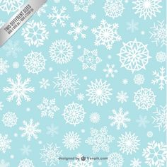 snowflake winter patterns